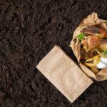 Potraviny připravené do kompostu