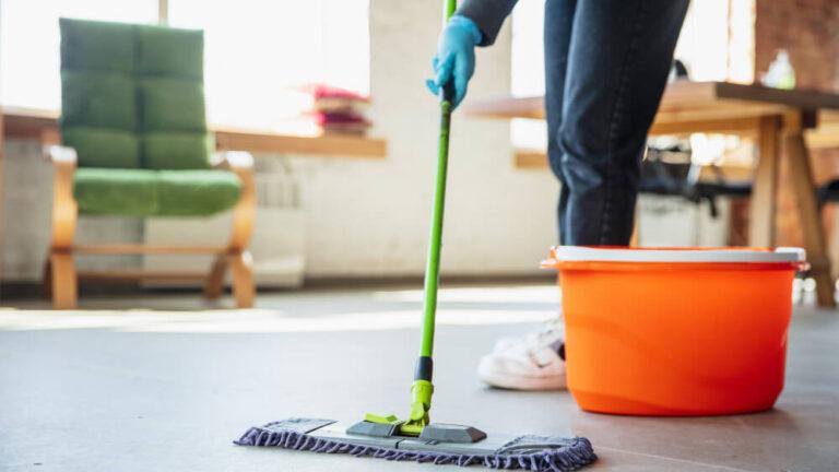 Úklid a dezinfekce domácnosti